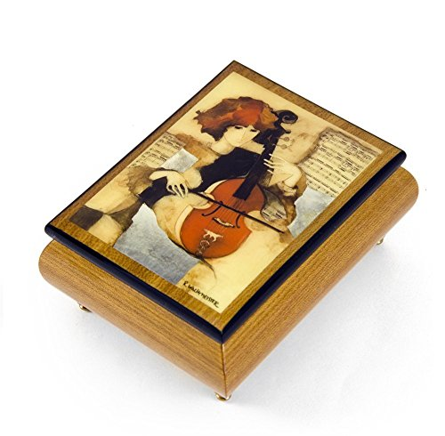 Barocco Fountain (Handcrafted Ercolano Music Box Featuring