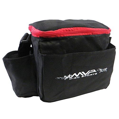 MVP Cell Starter Disc Golf Bag - Red by MVP Disc Sports