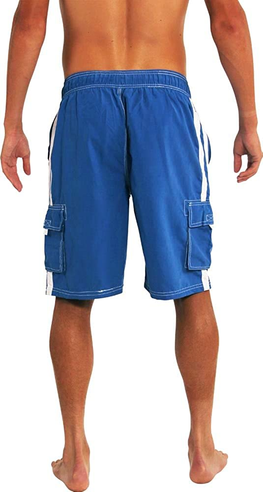 NORTY Mens Big Extended Size Swim Trunks Mens Plus King Size Swimsuit Thru 5X