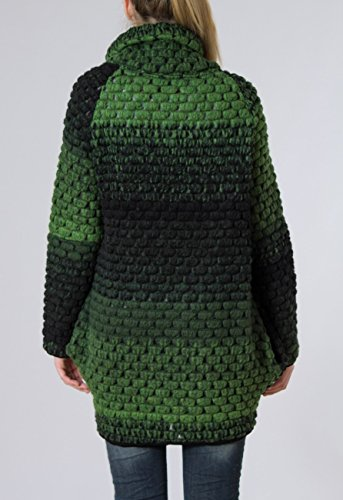pour en femme coloris laine Manteau pais pour MTL007 CASPAR l'hiver gilet Vert plusieurs xX8CqwTE