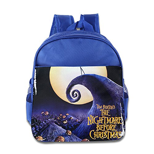 HYRONE The Nightmare Before Christmas Boys And Girls School Bagpack For 1-6 Years Old RoyalBlue (Jack From Nightmare Before Christmas Costume)