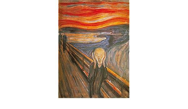 Amazoncom Edvard Munch Poster Photo Wallpaper The Scream