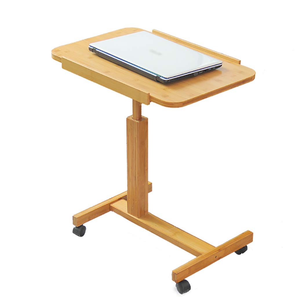 AJZGF Workspace Organizer Desk Folding Mobile Table, Computer Desk with Adjustable Height and Angle (Size : 7050cm)