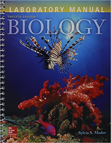 Lab Manual For Biology 9781259298516 Sylvia S