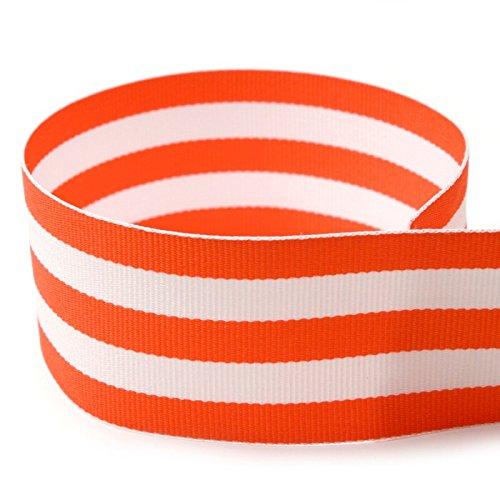 Yds Orange Grosgrain Ribbon - 1-1/2
