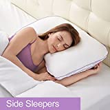 BioSense 2-in-1 Shoulder Pillow for Side Sleepers
