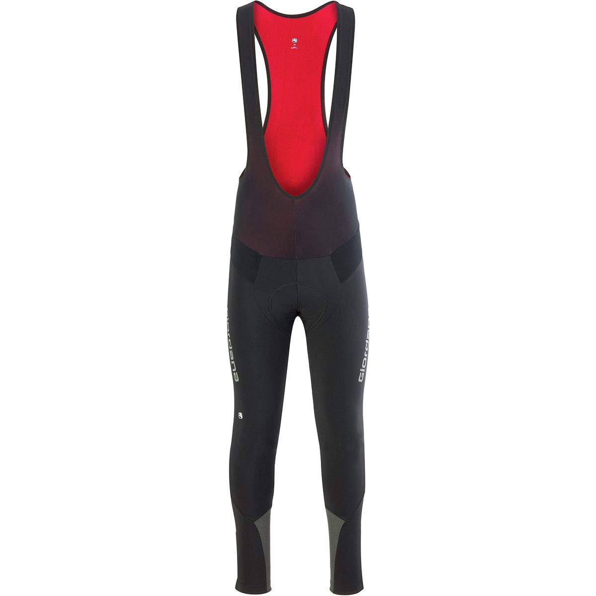 Giordana AV Full Insulated Tight - Men's Black/Black, XL