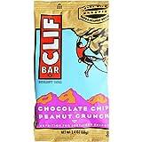 Clif Bar, 2.4 Ounce - Organic Chocolate Chip Peanut Crunch (8 Pack)