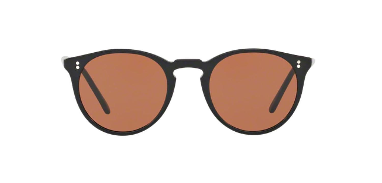 4fa7125bf6 Amazon.com  New Oliver Peoples OV 5183 SM THE ROW O MALLEY NYC 100553 PURE  BLACK Sunglasses  Clothing