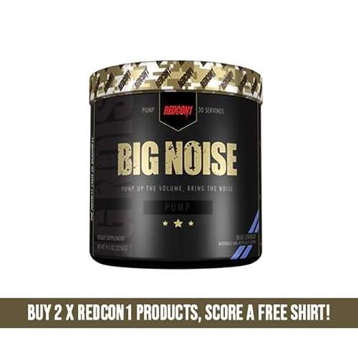 Redcon1 Big Noise Pump Formula   30 Servings (Blue Lemonade) by Redcon1