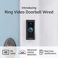 Deals on Ring Video Doorbell Wired 2021
