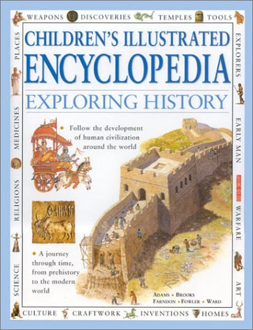 Exploring History: A Journey Through Time, From Prehistory to the Modern World (Children's illustrated encyclopedia) pdf