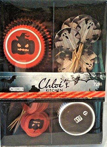 Chloe's Kitchen Halloween Cupcake Kit- 72