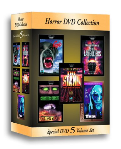 Stephen King Horror DVD Collection (Cujo/Golden Years/The Langoliers/The Stand/Thinner) by Republic Pictures