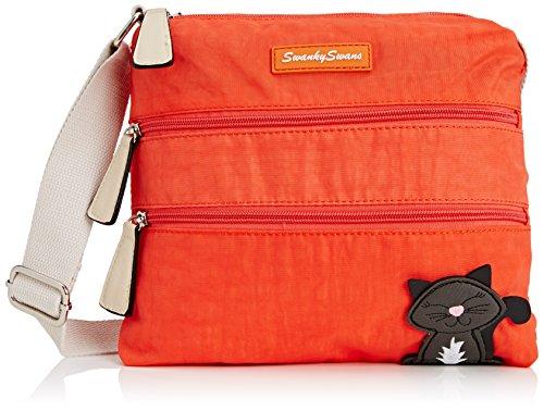 Cross Swankyswans Riley Cat Designer body orange Bag Womens Orange wIFPIqTAa