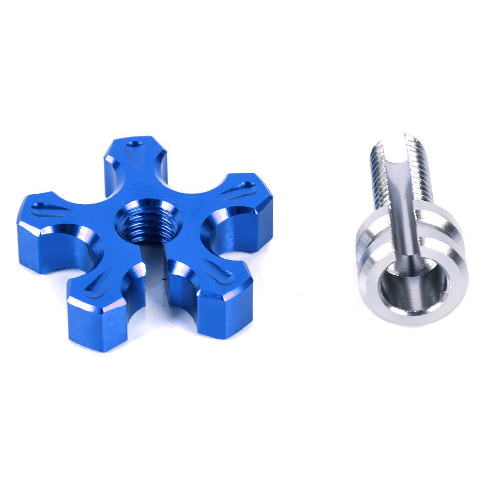 Blue Motorcycle Aluminum Clutch Brake Cable Wire Adjuster With M8 Clutch Cable Screw For Kawasaki for Yamaha for Honda Motorcycle Bike