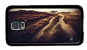Hipster Samsung Galaxy S5 Case indestructible cases country field PC Black for Samsung S5