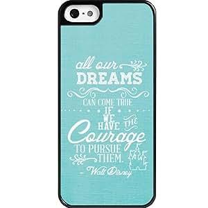 Dreams Walt Disney Quote iPhone 5 case - Custom Personalized iphone 5/5s case