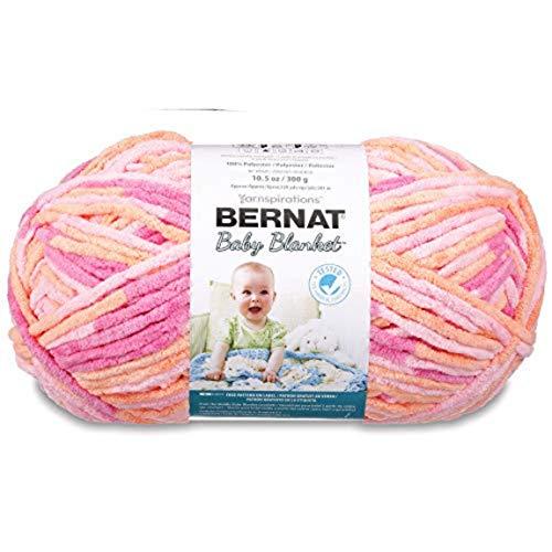 Bernat Baby Blanket Big Ball Peachy (Yarn Super Alpaca)