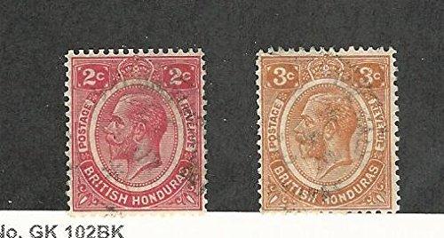 Review British Honduras, Postage Stamp,