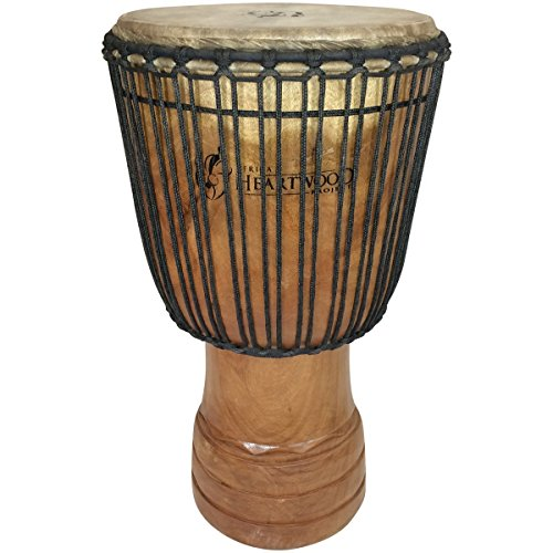 Hand-carved Djembe Drum From Africa - 14
