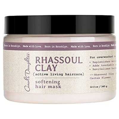 Carols Daughter Rhassoul Clay Softening Hair Mask, 12 Ounce