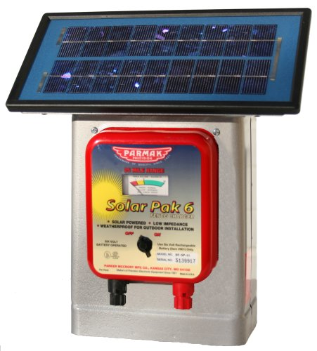 Parmak DF-SP-LI Solar Pak 6 Low Impedance 6-Volt Battery ...