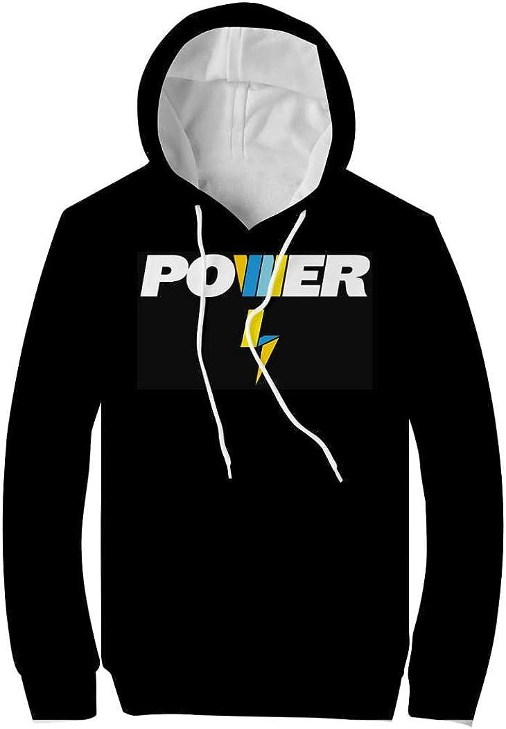DSFKJGF La-chlan Power Bold Logo Youth Hoodies 3D Prints Pullover Hood Sweatshirts for Children