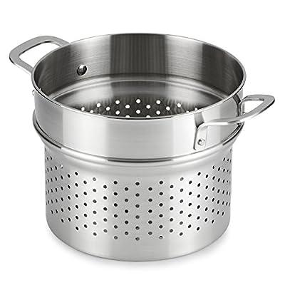 Calphalon 1891242 Classic Stainless Steel 10-Piece Cookware Set