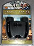 Celestron FocusView Lightweight Binocular, Black (71179)