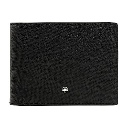 Montblanc Sartorial Men's Small Leather Wallet & Removable Card Holder 116330