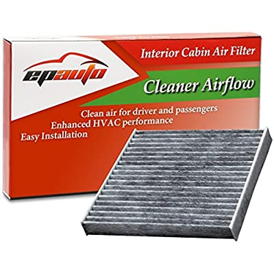 EPAuto CP285 (CF10285) Replacement for Toyota/Lexus/Scion/Subaru Premium Cabin Air Filter includes Activated Carbon: Automotive