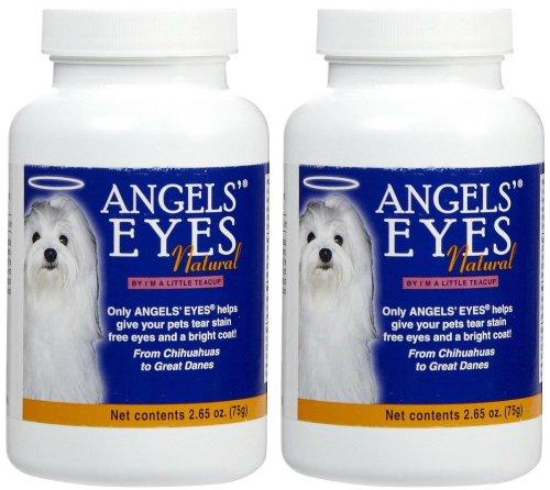 Angels Eyes Natural Chicken (Angels Eyes Natural Dog Tear Stain Remover, Chicken Flavor, 150 gram (2 x 75g))
