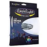 Nite IZE Flashflight LED Disc Golf Discs, Glow in The Dark Night Play