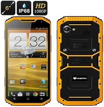 MFOX A8 Militar Resistente 6 Pulgadas Smartphone: Amazon.es: Electrónica