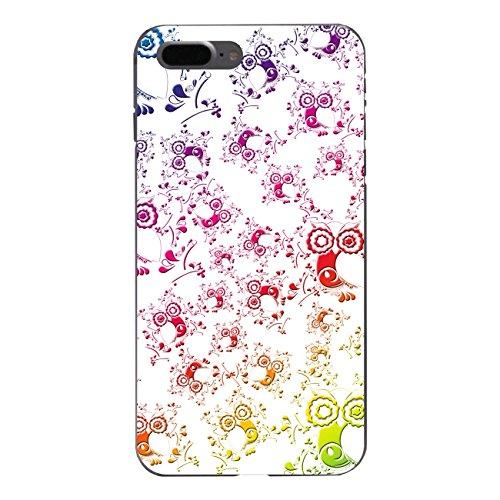 "Disagu Design Case Schutzhülle für Apple iPhone 7 Plus Hülle Cover - Motiv ""Eulenmuster weiß"""