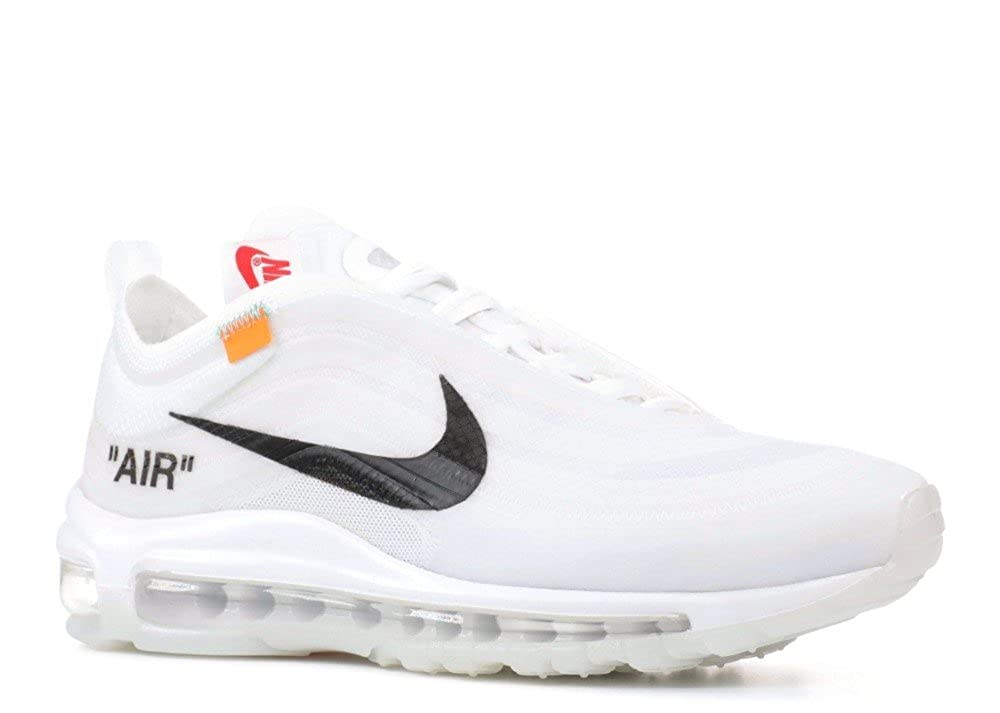 competitive price 677a6 b642e Amazon.com  Nike The 10 AIR MAX 97 OG Off-White - AJ4585-100  Fashion  Sneakers