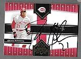 Deion Sanders Cincinnati Reds Autographed Signed 2005 Donruss card -- COA - (Near Mint Condition)