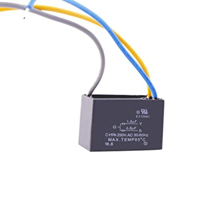 Ceiling Fan Capacitor 4+5.5+6 4 Cables 250vac