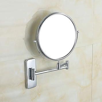 Amazoncom Cosmetic Mirror Bathroom Vanity Mirror Copper Folding