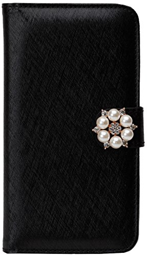 Left and right double door corresponding general-purpose book type case(with motif / elegant / Black)