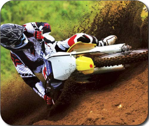 Motorcycle Motocross Dirt Bike Mousepad Mouse Pad Great Gift Idea
