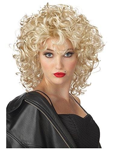 Wig Adult Sandy - Rubie's Adult Grease Sandy Wig, Bad Sandy
