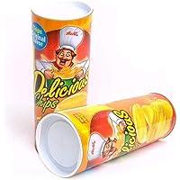 HAPPYTOYS Novelty Funny Potato Chip Snake Toy Gift April Fool Day Halloween Party Decoration Joke Prank Trick