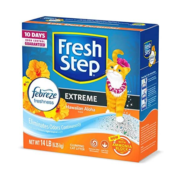 Fresh Step Advanced Extreme Clumping Cat Litter with Odor Control 1