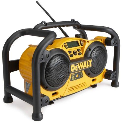 DEWALT DC011 Combination Work Site Radio and 7.2-Volt to 18-