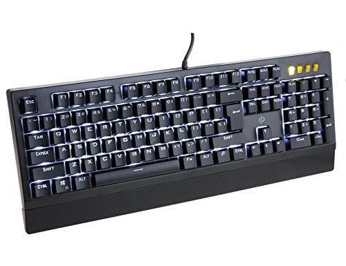 LEOBOG K25 Wired Mechanical Gaming Keyboard Backlight 104 Anti-Ghosting For Full Key Blue Switches Review