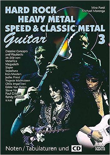 Hard Rock - Heavy Metal - Speed Metal Band 3: Lead Guitar