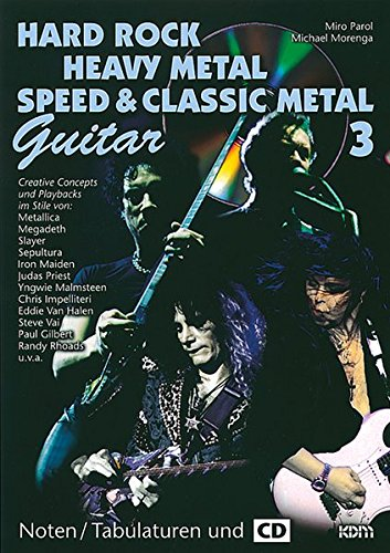 Hard Rock - Heavy Metal - Speed Metal / Hard Rock - Heavy Metal - Speed Metal Guitar 3: Lead Guitar
