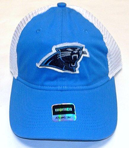 Reebok NFL Carolina Panthers Adjustable Slouch Hat - Osfa Women -EA34W